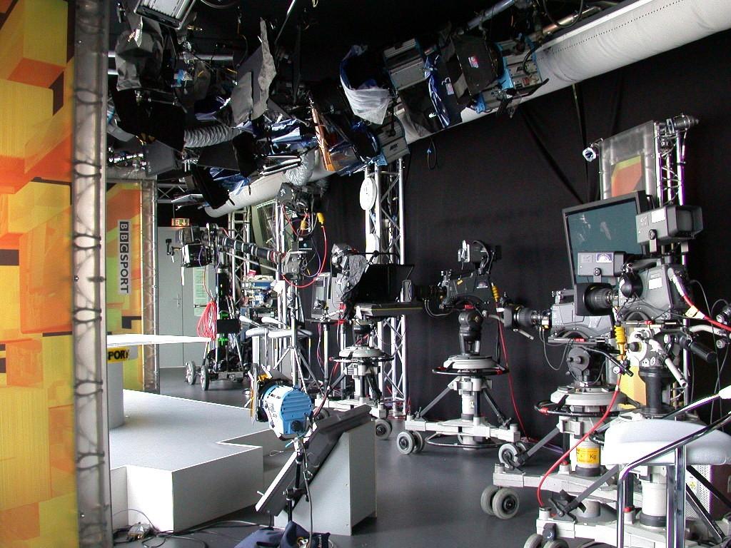 BBC - World Cup 2006 Studio Berlin TV Studio