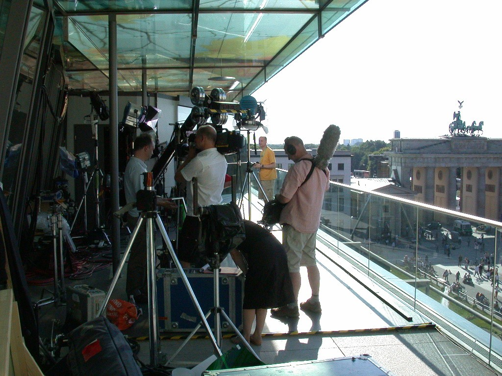 BBC - World Cup 2006 - Studio Berlin TV studio
