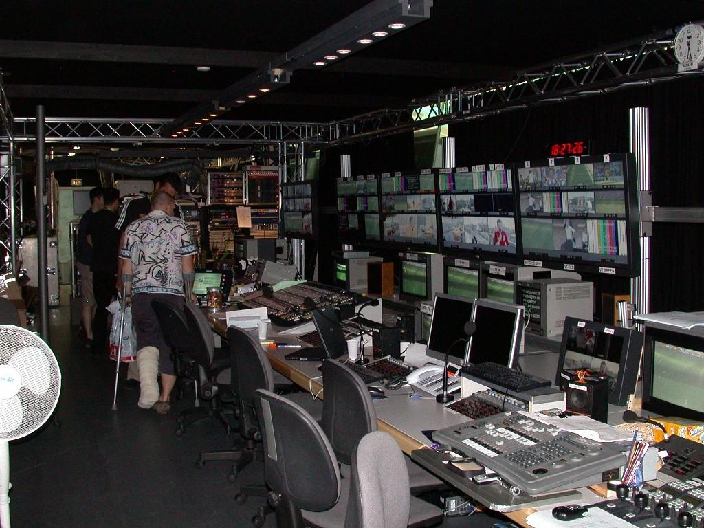 BBC - World Cup 2006 - Studio Berlin Technikräume