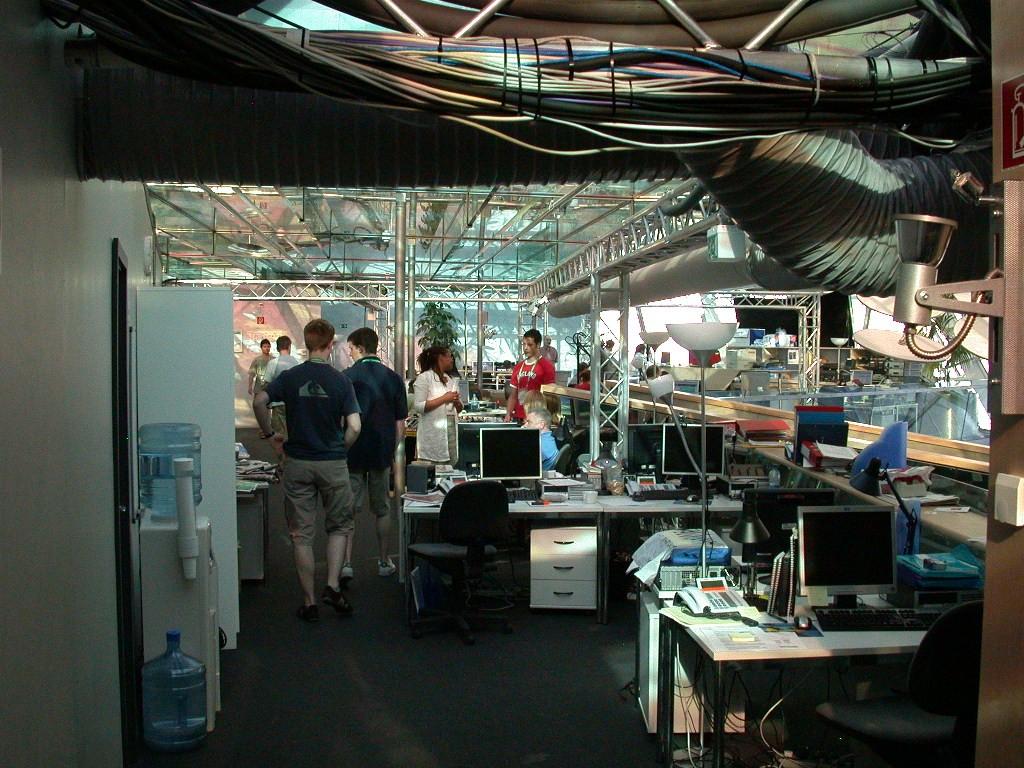 BBC - World Cup 2006 - Studio Berlin Technik- und Redaktionsräume