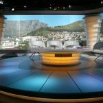 BBC-WM Studio in Kapstadt mit drehbarer Bühne
