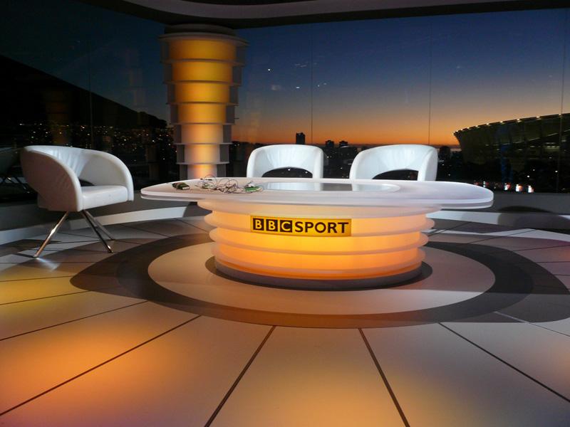 BBC-World Cup Studio Cape Town