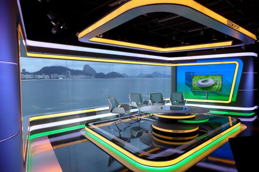 BBC-World Cup Studio Rio de Janeiro