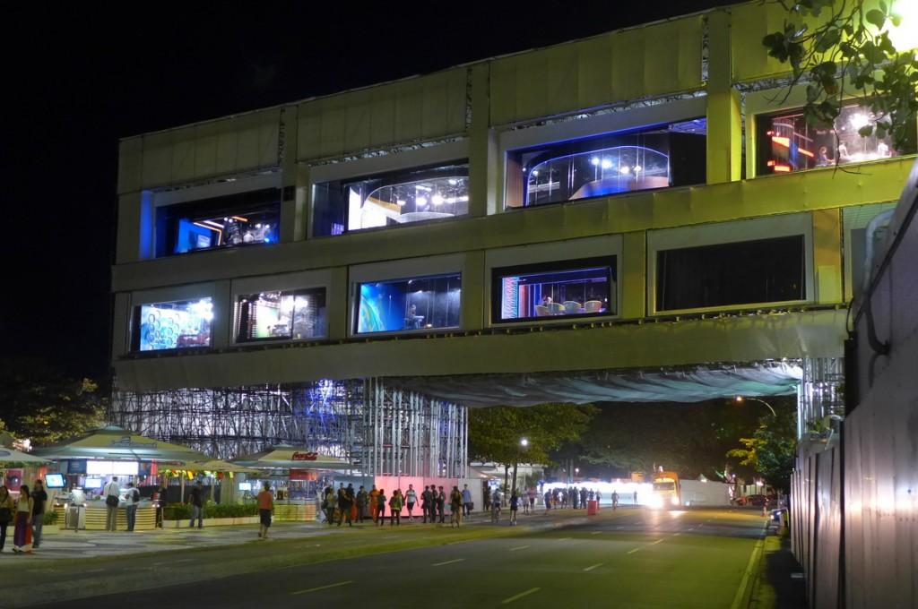 BBC-WM Studio Rio de Janeiro Studiokomplex and der Copacabana