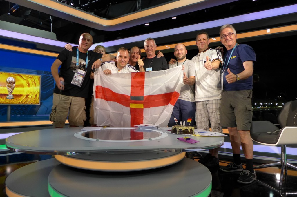 BBC-World Cup Studio Rio de Janeiro studio-crew