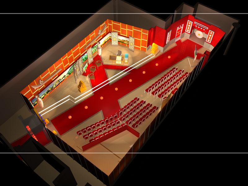 """ARD Studio """"Waldi & Harry"""" 3D Visualisierung"""