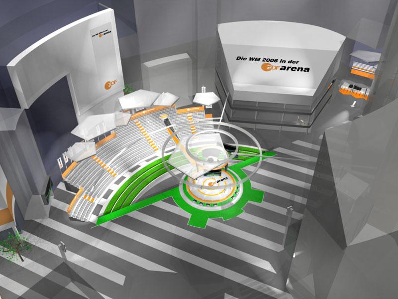 ZDF Arena - 3d visualization