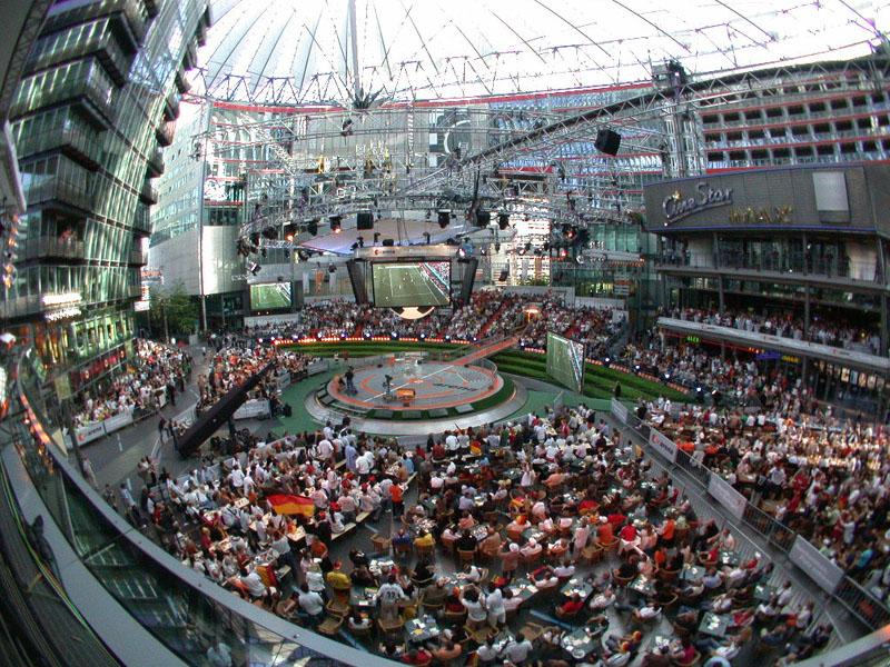 ZDF Arena - Blick von der ZDF-Terrasse