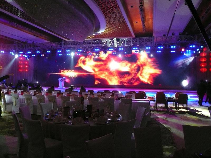 Proben für die Veranstaltung Soffitel Hotel Beijing
