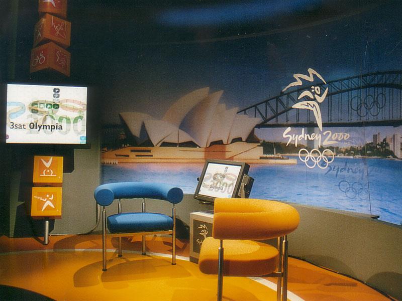3sat Studio im IBC