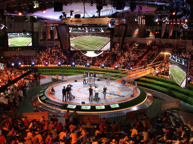 ZDF Arena -Blick von der ZDF Terrasse