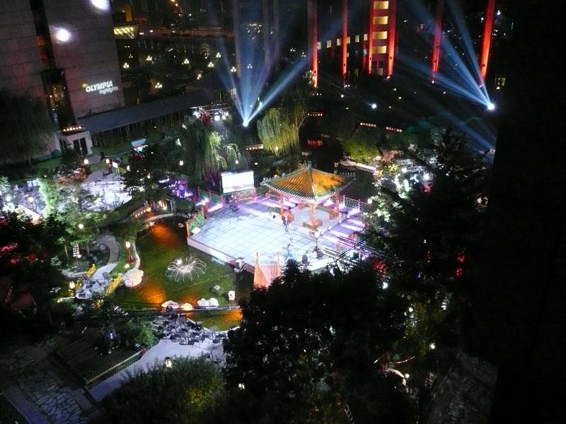 ZDF Garten - Olympia Highlights im Deutschen Haus Ostgarten - Hotel Kempinski Beijing