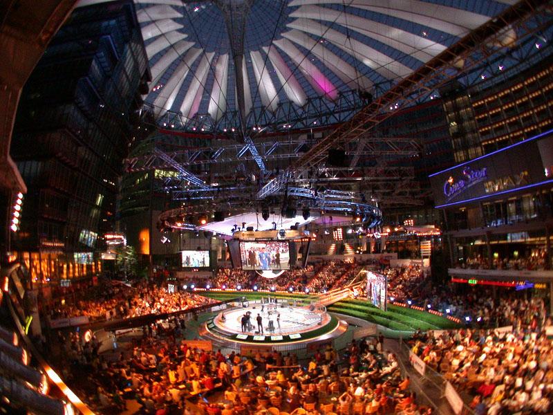 ZDF Arena - Blick von der ZDF Terrasse