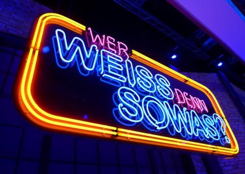 ARD German Television - Wer weiss denn sowas? - 2015