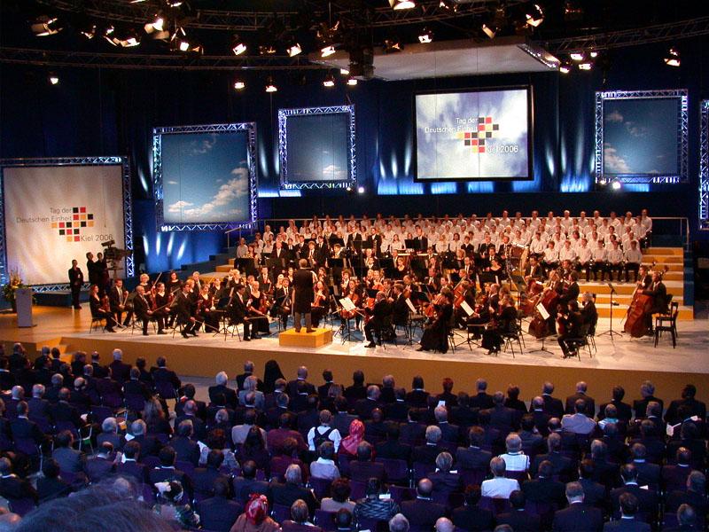 Festakt zum Tag der Deutschen Einheit 2006 Ostseehalle Kiel
