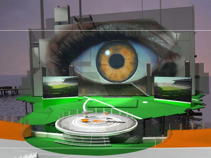 ZDF Arena at Seebühne Bregenz 3d visualization
