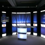 ZDF Champions League Studio Set