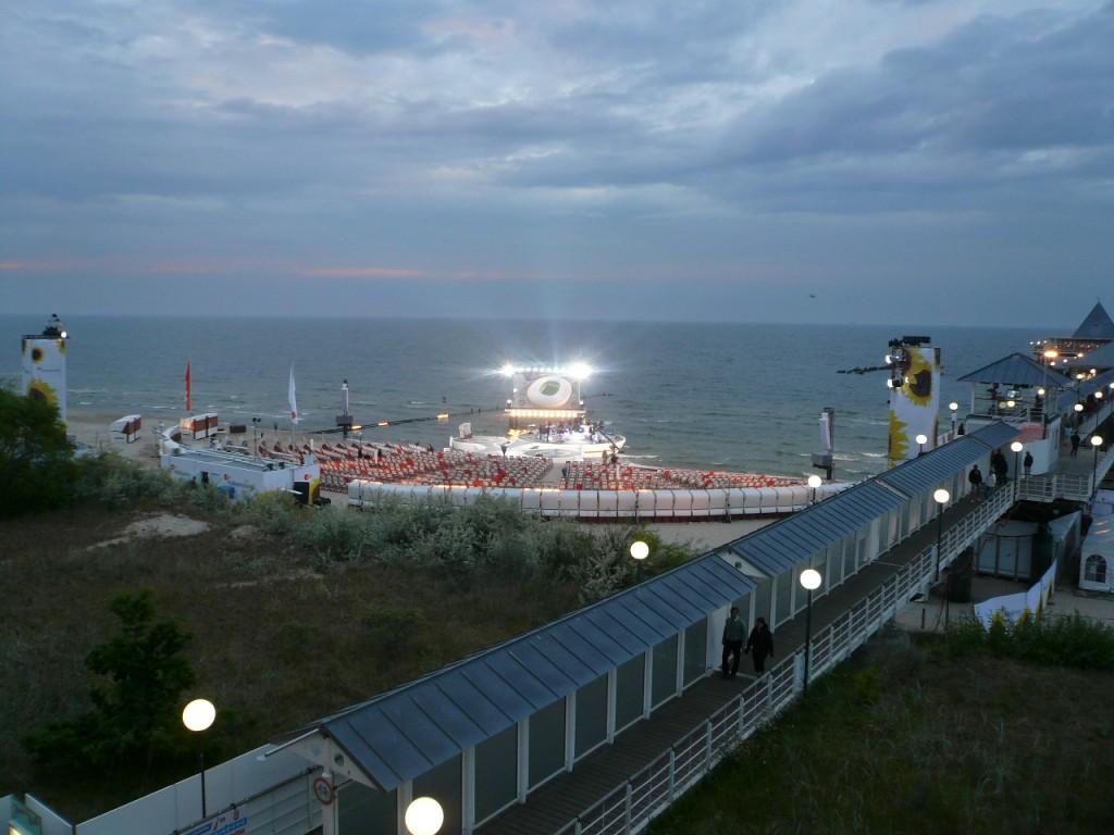 ZDF Football-Beach - Heringsdorf TV area